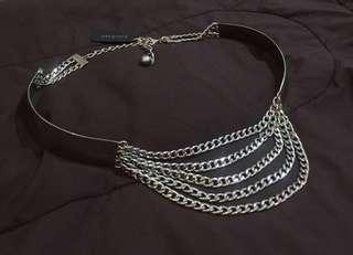BEBE metal belt
