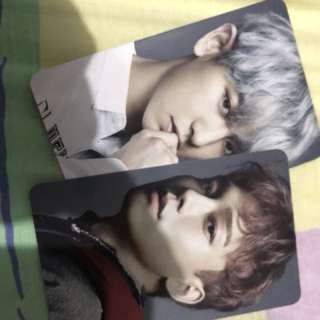 chanyeol & jongdae countdown photocard