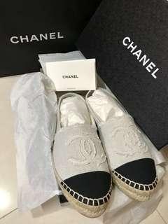 Chanel classics 鉛筆鞋/草鞋🤤 (全新)