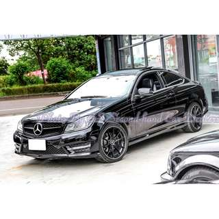 Mercedes-Benz C250 Coupe AMG 1.8T 黑