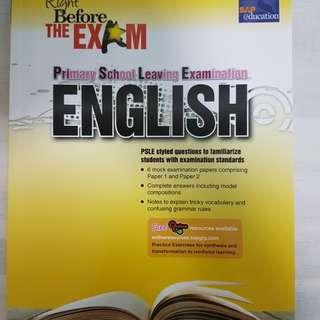 PSLE English assesment book (SAP)