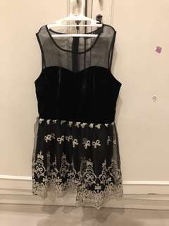 (PRE-LOVED) Ribbon Dress