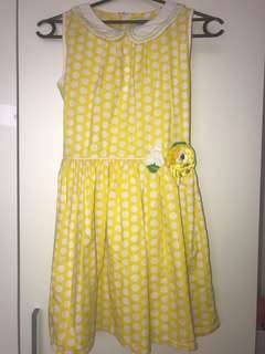 Dress Donita yellow