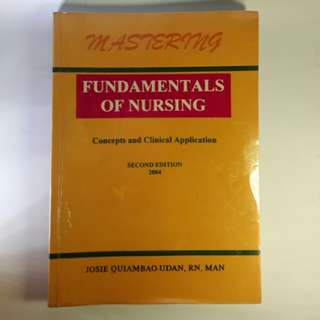 Fundamentals of Nursing Concepts & Clinical Application 2nd Edition