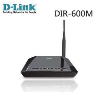 D-Link DIR-600M 150Mbps無線寬頻路由器(誠可議價)