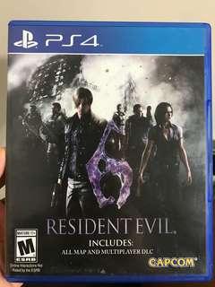 PS4 biohazard 6