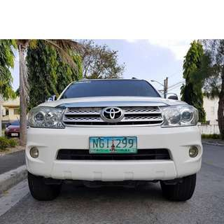 Toyota Fortuner 2009 G Automatic Diesel