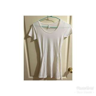 🚚 白色純棉合身洋裝 連身裙