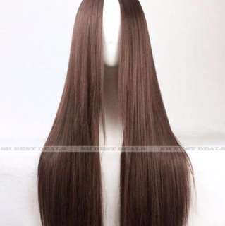 Dark Brown Wig 40 cm