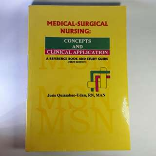 Medical-Surgical Nursing Concepts & Clinical Application 1st Edition