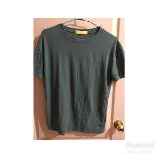 🚚 深綠色短袖上衣