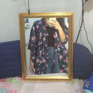 (Preloved) Flowery Kimono 🌺