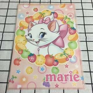 迪士尼 Marie A4 File