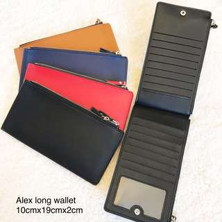 ALEX LONG WALLET