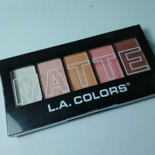 L.A Colors Matte Eyeshadow Palette