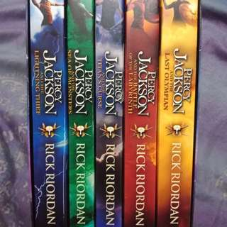 Percy Jackson Complete Series Camp Half Blood