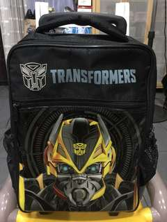 Transformers Bumble Bee Medium Trolly Bag for Kids