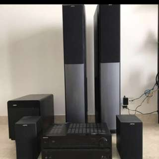 Onkyo Jamo speaker system