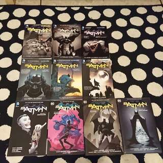 DC Batman New 52 Entire Collection