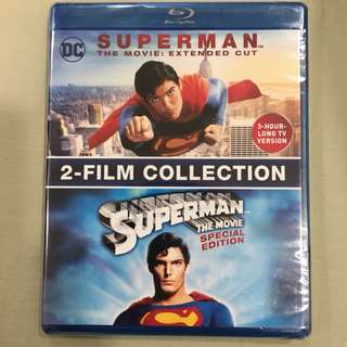 Superman The Movie Extended Cut 2 Film Collection Blu-ray