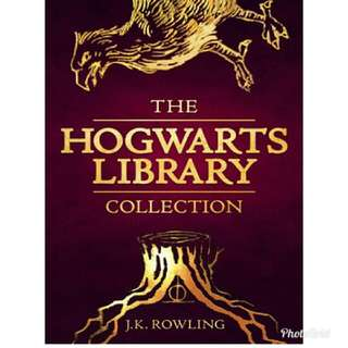 Hogwarts Library by J.K. Rowling