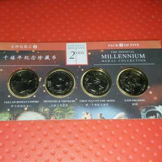 Greenwich Meridian Official Millennium Medal Collection
