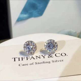 Tiffany & Co earrings (Platinum plate on mercury)