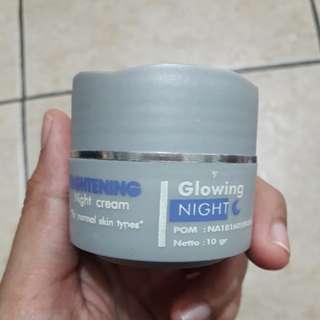 Preloved Adeeva Skincare Brightening Night Cream