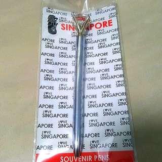 Singapore Souvenir Pen
