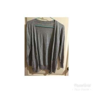 🚚 灰/黑針織外套