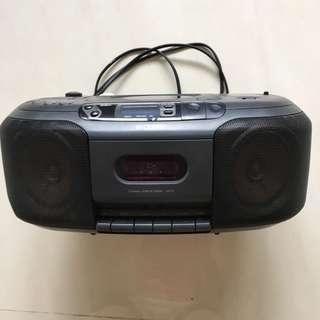 Sony Portable Radio / Audio Cassette / CD Player