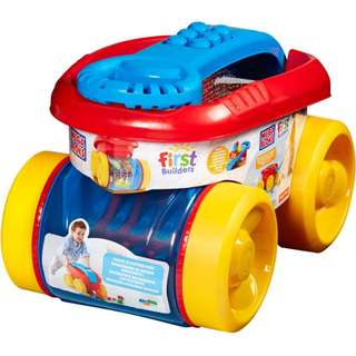 Mega Bloks Blocks Scooping Wagon