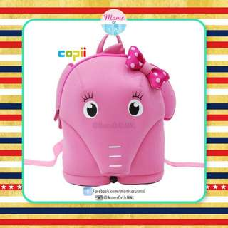 Copii Pink Elephant Anti-Lost Backpack for Girls