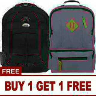 Free Tas Ransel -Buy 1 get 1free - Tas Ransel POLO