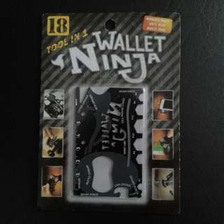 18 Tools in 1, Wallet Ninja for Sale