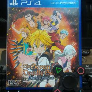 [PS 4] The Seven Deadly Sins - Knights of Britannia