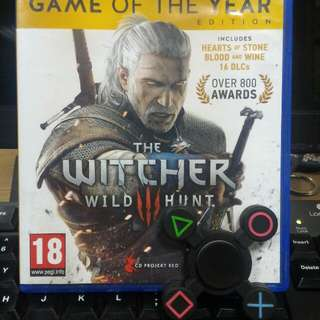 [PS 4] The Witcher 3 Wild Hunt - GOTY Edition