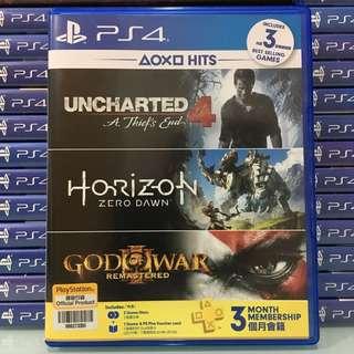 [PS4] Horizon & Uncharted 4