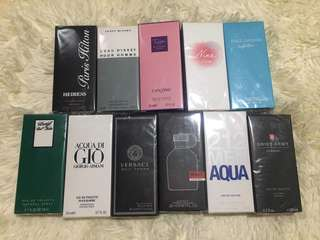 FOR SALE TRAVEL SIZE PERFUMES