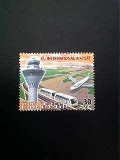 Malaysia 1998 KLIA 30c Used (0344)