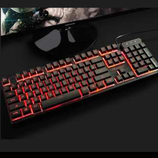 Triple Colour Keyboard for Gaming
