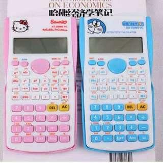 Hello Kitty / Doraemon Scientific Calculator
