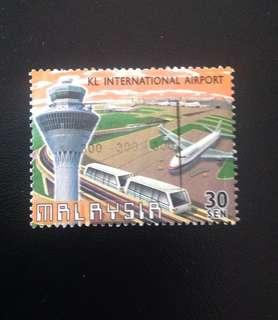 Malaysia 1998 Opening of KLIA 30c Used SG685 (0319)