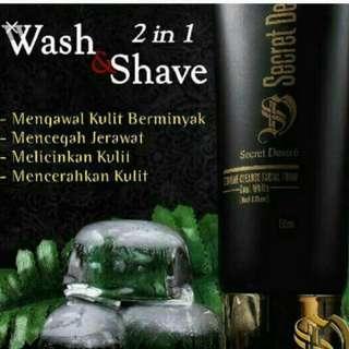 🤹♀️Thursday 🤹♀️Secret desire men face wash