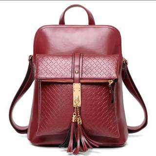 Leather bag Korean