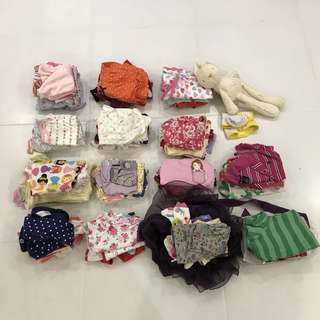 Baby Girl Clothes 0 to 12 months