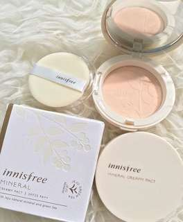 Innisfree mineral creamy powder