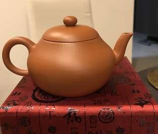 紫砂壶 朱泥梨型壶 Zisha Teapot