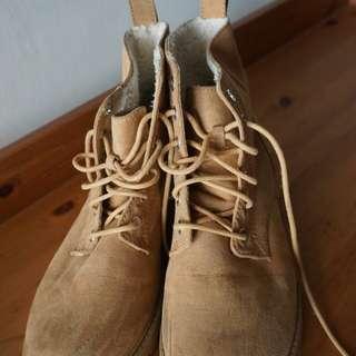 H&M Divided faux suede boots - hi cut