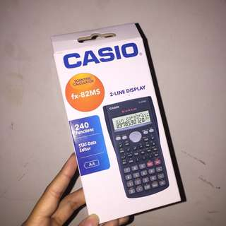 Scientific calculator  (CASIO)